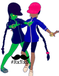 MMD RxNxD FusionFall Numbuh 5 by RinXNeruXD