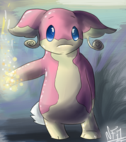 Audino by Lucky-Puppy