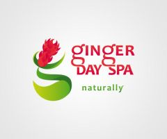 201210 : Ginger Day Spa [logo] by imaginarism