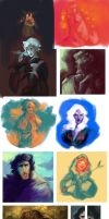 ASoIaF/GoT sketch dump 2 by kallielef