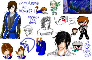Date Masamune FC - Pchat 2 by Carcaneloce