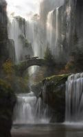Waterfall by JordiGart