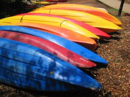 Stock - Kayaks by darlingstock