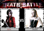 DB  Ada VS Trish by KazuyaAlexander