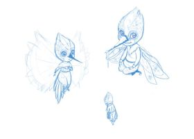 Baby Tooth Sketches by Vynndetta