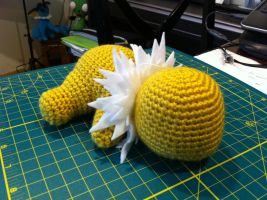 Jolteon WIP by aphid777