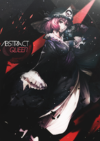 Abstract Queen Simple Tag by DanNask