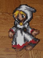 White Mage Perler Bead Sprite by TheSuperBoris