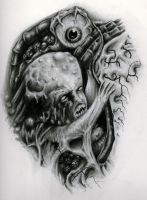 Mutant Baby by Anderstattoo