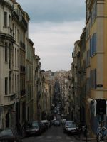 road in marseille by NikO-fr
