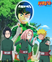 Funny Team 7 - Green Beast's will by DennisStelly