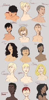 The women of Ignition Crisis by SNEEDHAM507