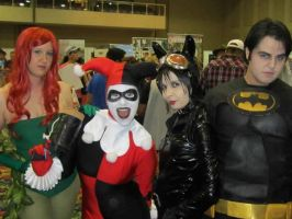 ComicExpo: Bruce and the Sirens by kay-sama