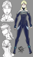 Revamp- Rayleen from Metroid by athorment