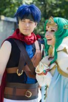 Ike and Elincia Candid by RikkuGrape