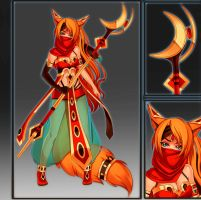 Tribal Mage Auction - CLOSED by Melixion