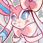 Sylveon Icon by Gem-n-Ems