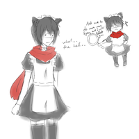 What if Bossun was a Neko Maid-- by Paanteas