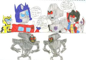 Transformers React to Transmorphers by SithVampireMaster27