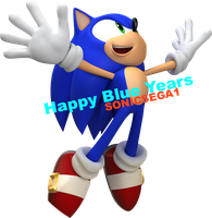 HAPPY BLUE YEARS-From SonicSEGA1 by LukeVei-Da-Hedgehog