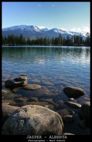 Lake Beauvert Jasper by N1ghtf4ll3r