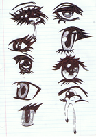 Eyes practice by Angie-Andrea