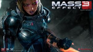 Mass Effect 3 Screen FemShep by Warhound-CMP