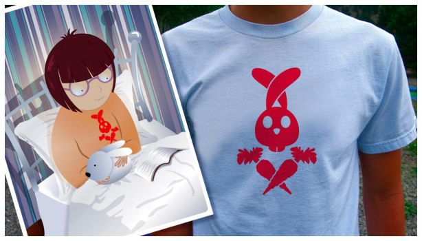Tshirt pirate bunny by pixelbunny1