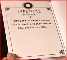Smosh - How to use Life Note by SmoshyArt