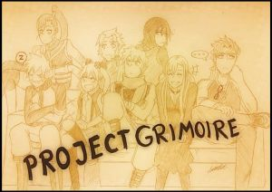 Project Grimoire! (retitled) by Blazing0Pixel