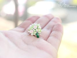 Wedding Bouquet by OrionaJewelry