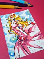 Princess Peach - KAKAO give-away by daadia