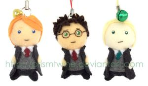 Harry potter keychain plush by prismtwine