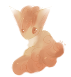 Speedpaint-Vulpix by Kiotii