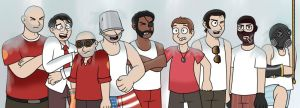 TF2: Ice-bucket challenge by AnithaLuis