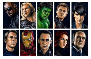 Avengers Assemble by AshleighPopplewell