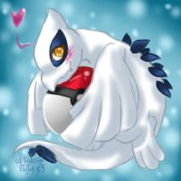 Chibi Lugia x3 by Desiree-U