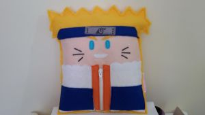 Handmade Anime Naruto Naruto Medium mod. 2 Pillow by RbitencourtUSA