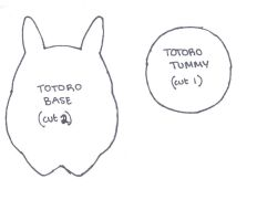 Totoro Plush Template by CottonCandy33