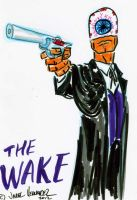 THE WAKE convention sketch by javierhernandez