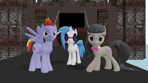 .:MMD X MLP:. Pony Pack Download by SaziSkylion