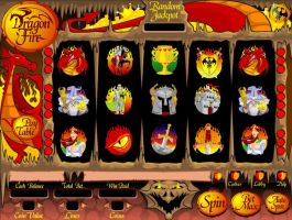 Dragon Fire Online Slot Game by Mickeyns