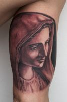 maria tattoo by graynd