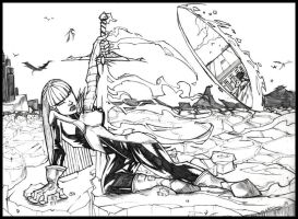 magik finshed pencils by CRISTIAN-SANTOS