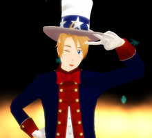 MMD Newcomer: HAPPY ALMOST 4TH OF JOOLAH!!! by FBandCC