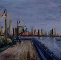 Jersey City NY by Wulff-Arts