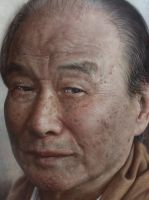 Grandpa-detail by JW-Jeong