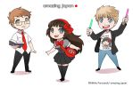 Amazing Japan chibis by Zombiesmile