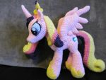 Princess Cadence by NerdyKnitterDesigns
