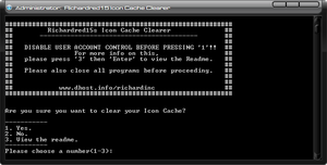 Icon Cache Clearer by richardred15
